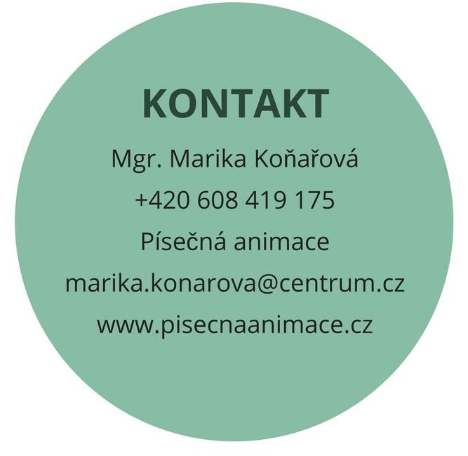 Kontakt Marika Koňařová