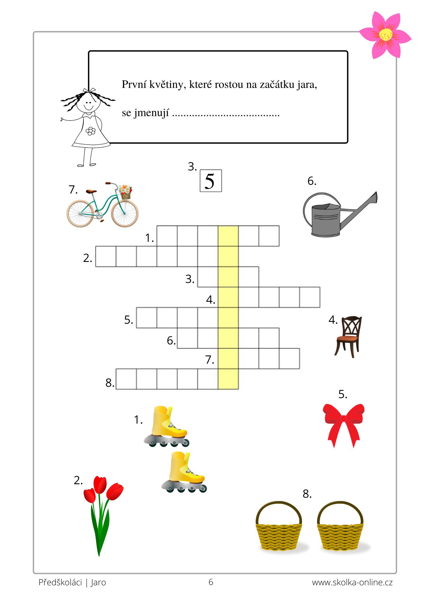 Křížovky pro děti