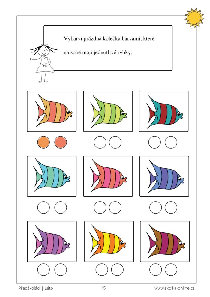 Zábavné úkoly pro předškoláky